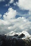 Cordigliera dell'alta montagna Immagine Stock Libera da Diritti