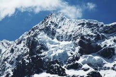 Cordigliera dell'alta montagna Immagini Stock Libere da Diritti
