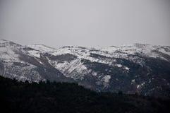 Cordilheira de los Andes Foto de Stock Royalty Free