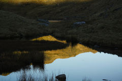 Cordilheira de Snowdonia Fotografia de Stock