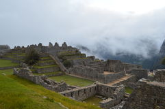 Cordilheira dos Andes. Angles Machu Picchu in Peru Royalty Free Stock Photo