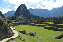 Cordilheira dos Andes. Angles Machu Picchu in Peru Stock Photography