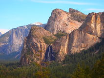 Cordilheira em Yosemite Fotografia de Stock