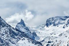 A cordilheira maior de Cáucaso Fotografia de Stock