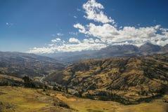Cordilheira Negra no Peru Imagens de Stock