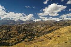 Cordilheira Negra no Peru Fotos de Stock
