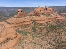 Cordilheira nos desertos do sudoeste do Estados Unidos fotos de stock royalty free