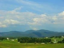 Cordilheira rural da paisagem Fotografia de Stock