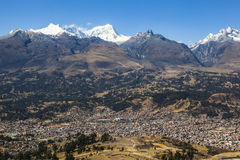 Cordiliera Blanca, Huaraz, Peru Royalty Free Stock Photography