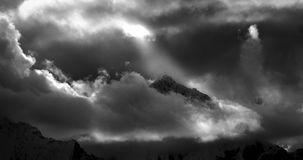Cordiliera Blanca - Peru. Mountains from Cordiliera Blanca - Peru Royalty Free Stock Images