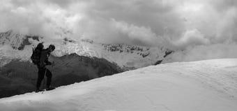 Cordiliera Blanca - Peru. Mountains from Cordiliera Blanca - Peru Royalty Free Stock Photos
