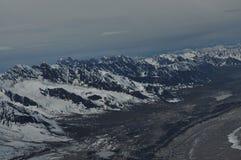 Cordillera ancha de la extensión Fotos de archivo