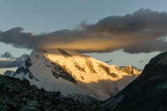 Cordillera Blanca Zdjęcie Stock