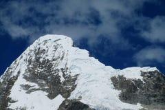 Cordillera Blanca-bergskedja, Peru Arkivbild