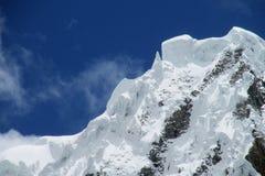 Cordillera Blanca Huascaran Arkivfoton