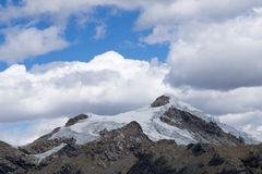 Cordillera Blanca royalty free stock photo