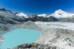 Cordillera Blanca Royalty Free Stock Photography