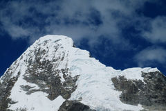 Cordillera Blanca mountain range, Peru stock photography