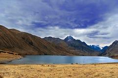 Cordillera Blanca mountains Stock Photos