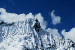 Cordillera Blanca mountains stock photography