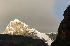 Cordillera Blanca Royalty Free Stock Photography