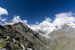 Cordillera Blanca Royalty Free Stock Photos