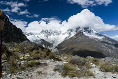 Cordillera Blanca Royalty Free Stock Image