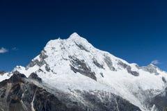 Cordillera Blanca zmierzch Zdjęcie Stock