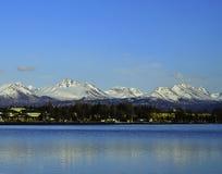 Cordillera de Chugach Imagenes de archivo