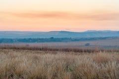 Cordillera de Drakensberg Imagen de archivo