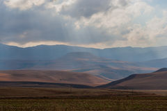 Cordillera de Drakensberg Fotografía de archivo libre de regalías