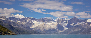 Cordillera de Fiarweather Imagen de archivo