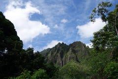 Cordillera de Koolau Foto de archivo