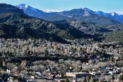 Cordillera de la ciudad Foto de archivo libre de regalías