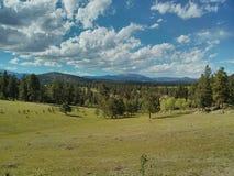 Cordillera de la mucha altitud Fotos de archivo