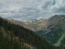 Cordillera de la mucha altitud Foto de archivo libre de regalías