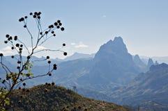 Cordillera de las montañas del Annam en Laos Foto de archivo libre de regalías