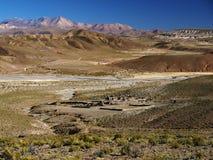 Cordillera de Lipez Imagen de archivo libre de regalías