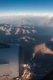 Cordillera de Los Anderna Arkivfoton