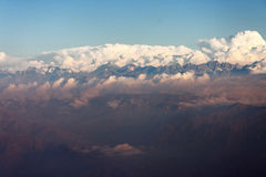 Cordillera de Los Andes Royalty Free Stock Photo