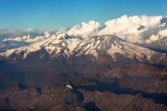 Cordillera de Los Andes Stock Image