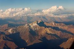 Cordillera de Los Andes Royalty Free Stock Images