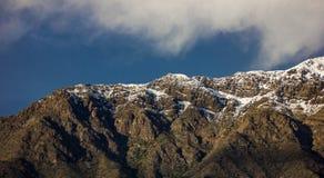 Cordillera de Los Andes2 Στοκ Εικόνα