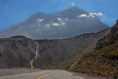 Cordillera de Los Andes Frost River Stock Images