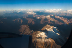 Cordillera de Los Andes Stock Photo