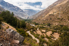 Cordillera de Los Andes Royalty Free Stock Photos