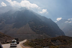 Cordillera de Los los Andes Imágenes de archivo libres de regalías