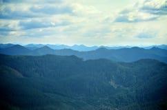 Cordillera de Molalla Foto de archivo libre de regalías