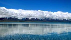 Cordillera de Nam Co y de Nyainqêntanglha Fotografía de archivo libre de regalías
