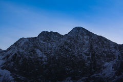 Cordillera de Snowdonia Foto de archivo